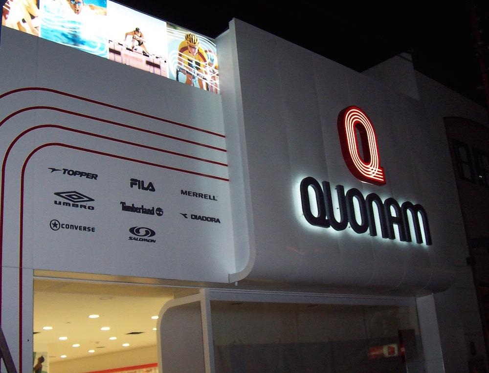 Nueva Fachada Local QUONAM en Comodoro Rivadavia